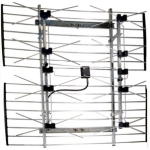 UHF/VHF/FM/HDTV Compact Outdoor Antenna